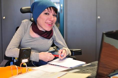 EUTB-Beraterin des MAV Sarah Lenz